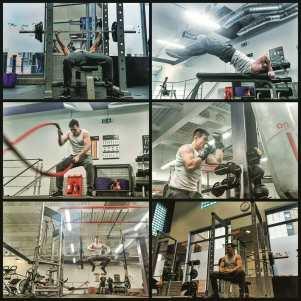 Bruce Lee style training