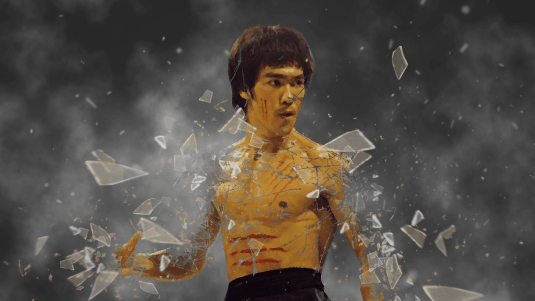 Modern Bruce Lee training