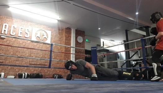 Jaw training martial arts