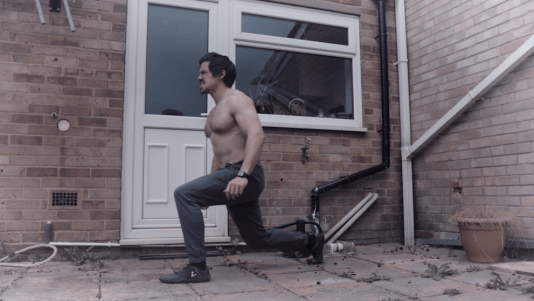Lunge for functional fitness