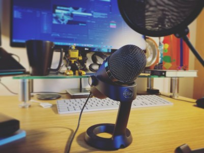 Recording audio for YouTube