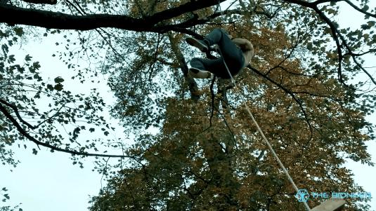 Rope climbing Baki Training