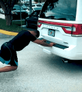 Car push Gilbert Burns IHP
