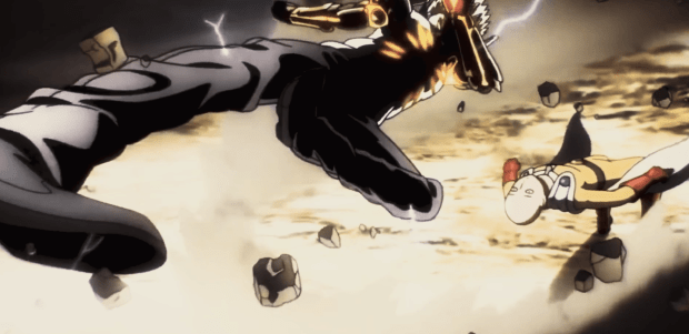 One Punch Man Awesome Dodge
