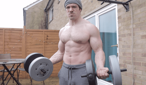 stronger elbows biceps curls