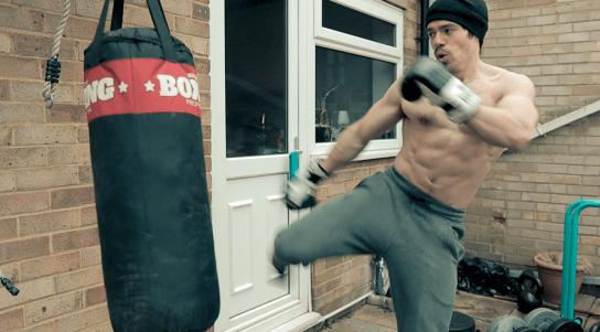 Roundhouse Kick Goku Training