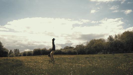 Parallettes handstands