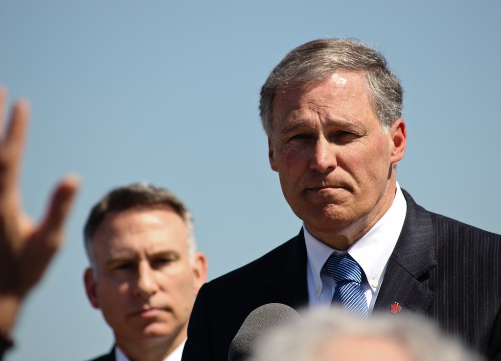 Jay Inslee Jumps Into 2020 Fray as Climate Change Candidate