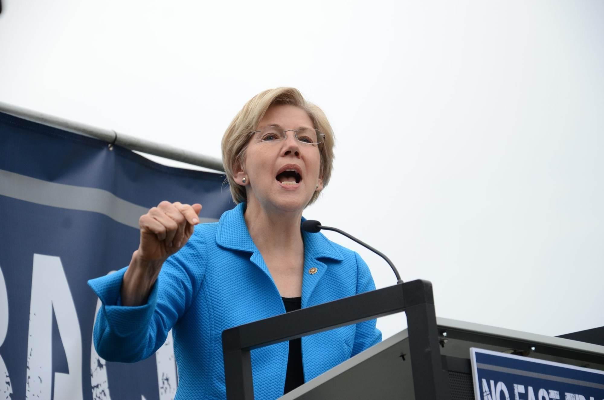 Sen. Elizabeth Warren Asks Why the Justice Department Went Easy on Big Banks