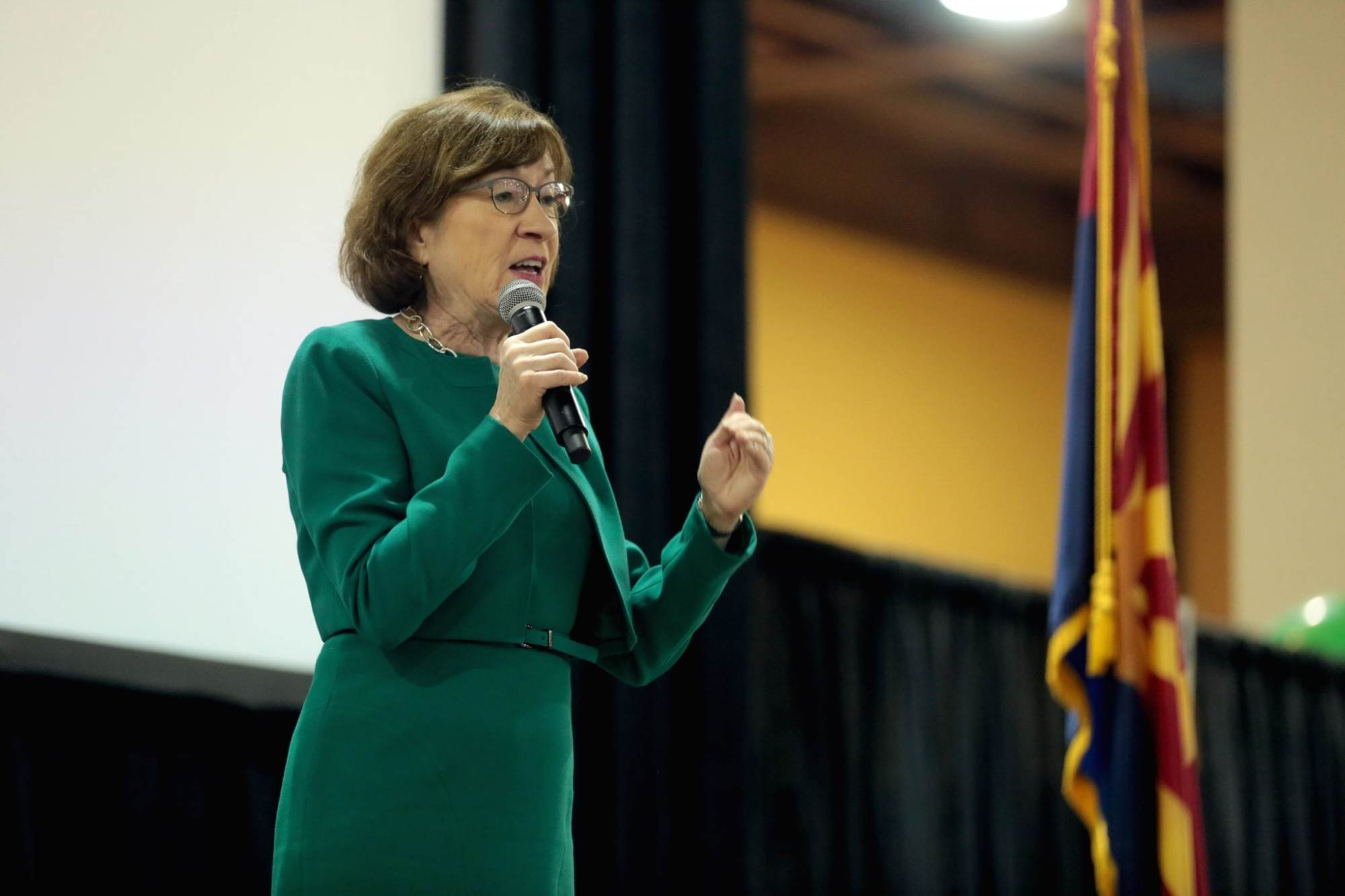 Susan Collins's Seat Downgraded to 'Toss-up'