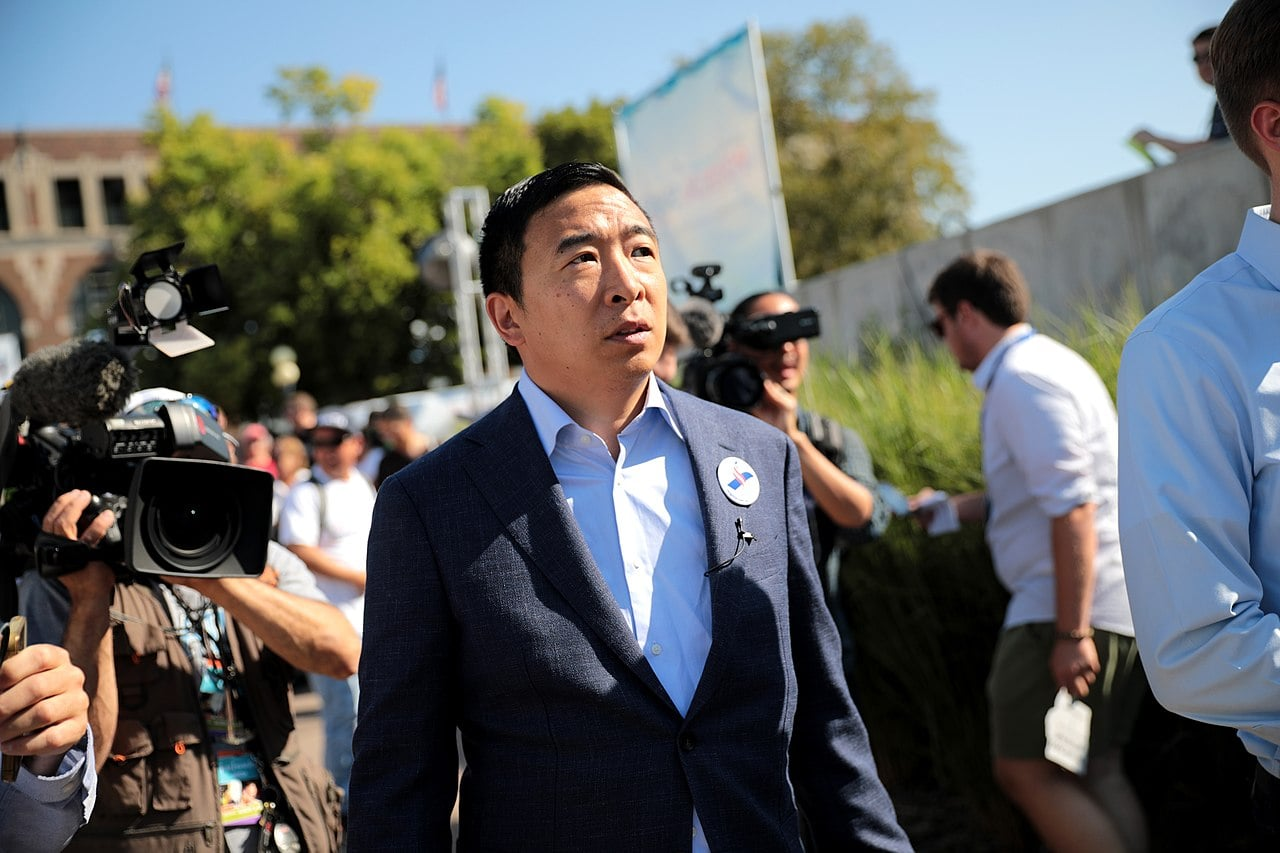 Andrew Yang's UBI Could Be Illegal