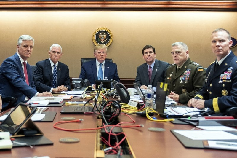 Of Course The Trump Al-Baghdadi Situation Room Pic Was Staged