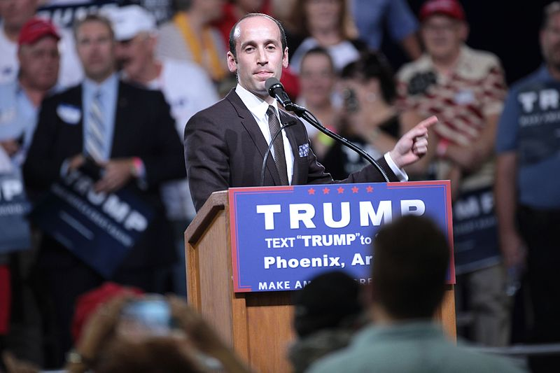 Trump's Decision Is Clear: Either Admit to Racism or Fire Miller Now