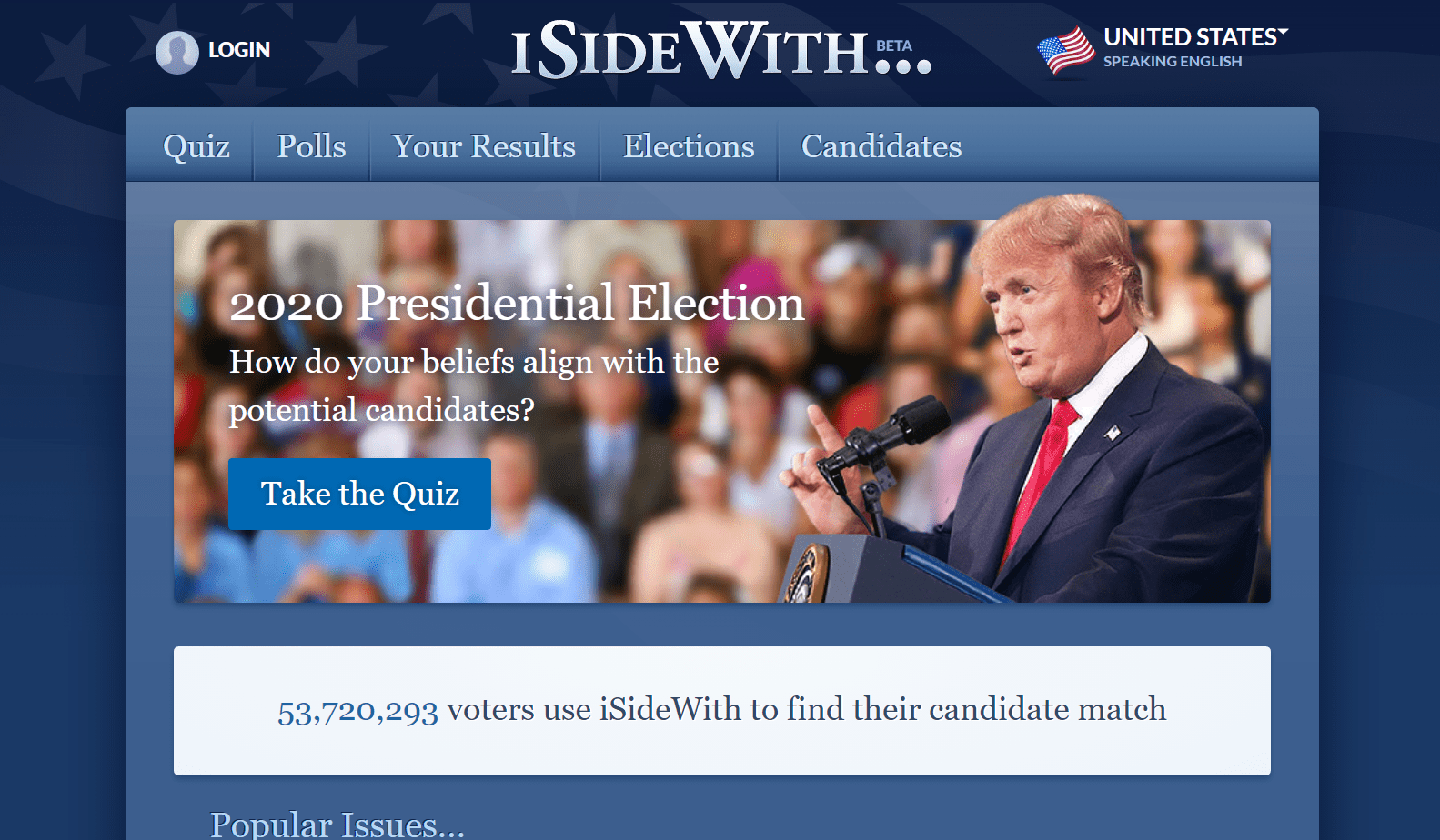 What is ISideWith's Bias?