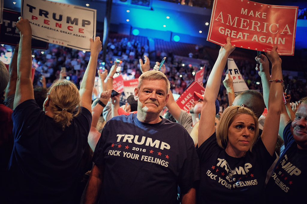 The Trump Supporters Who Aren't Racist, Are Sadists