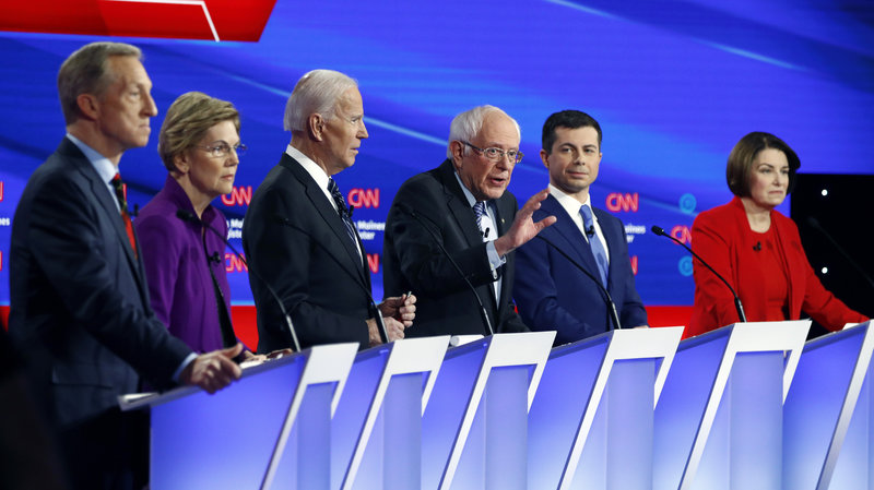 February Democratic Presidential Debate Review