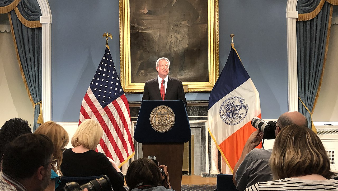De Blasio Says Coronavirus Will Get Worse Until May: 'That's the Blunt Reality'