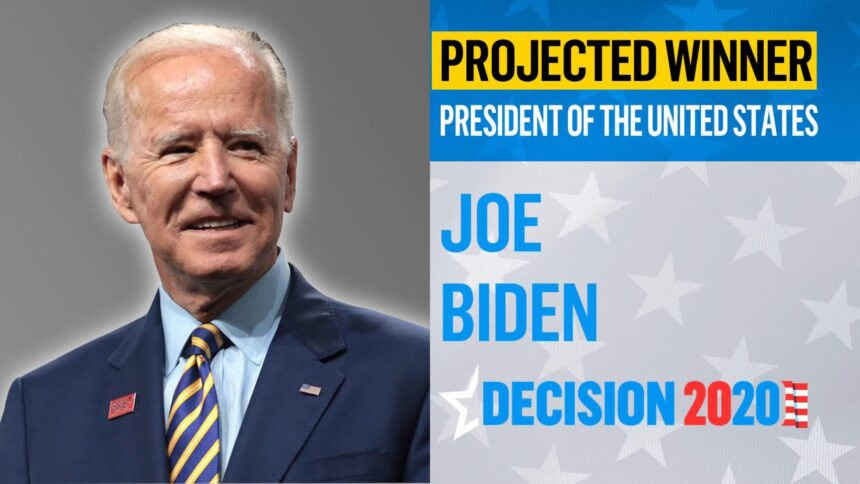 JOE BIDEN BECOMES PRESIDENT-ELECT