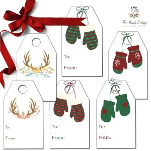 Sleigh Bells Ring… Some Christmas Gift Tags