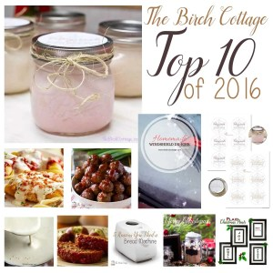 The Birch Cottage's Top 10 Posts of 2016