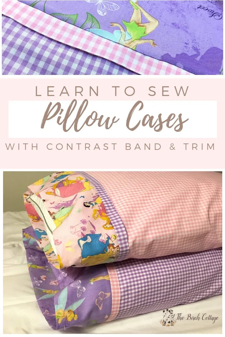 learn how to sew a pillow case the