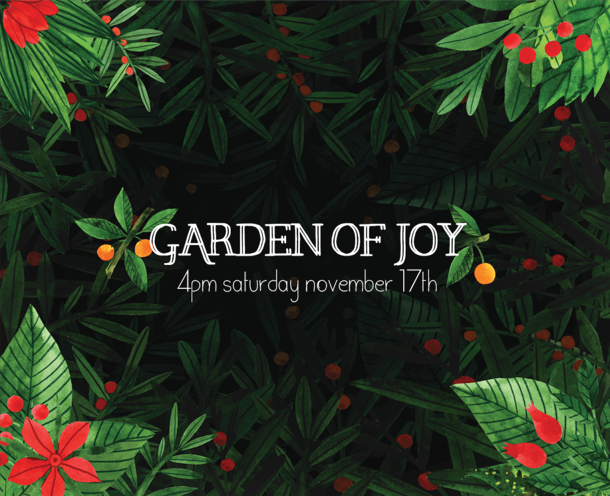 Video: Garden of Joy on BIRN Alive