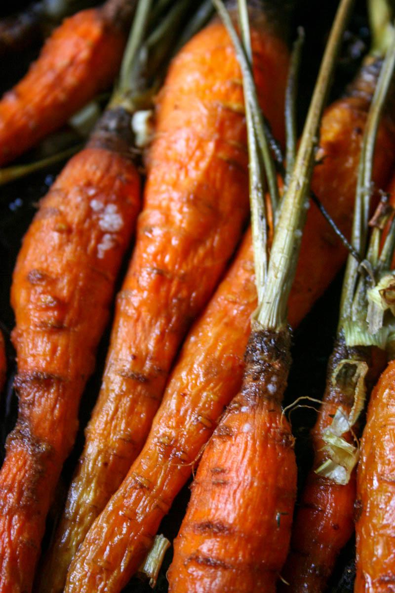 Roasted Carrots – The Bitter Socialite