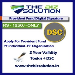 PF Dsc Employee Provident Fund digital signature for PF lowest price