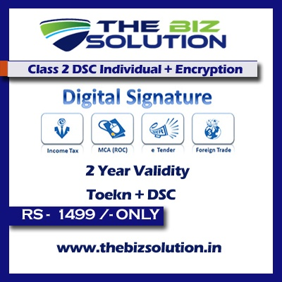 Capricorn Class 2 Digital Signature Individual & Encryption sign