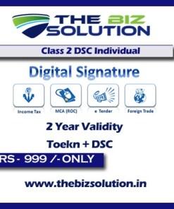Class 2 Digital Signature Certificate
