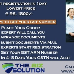 Fast GST Registration online apply eligibility and documents lowest price