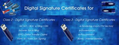 Difference between Class 2 and Class 3 Digital Signature Certificates