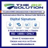 Class 2 digital signature organization with encryption aurangabad price