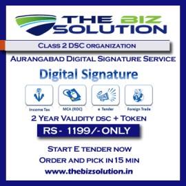 Aurangabad Class 2 Digital Signature organization dsc lowest price