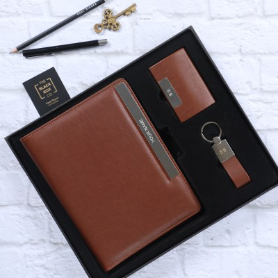 Personalised Diary, Card Holder