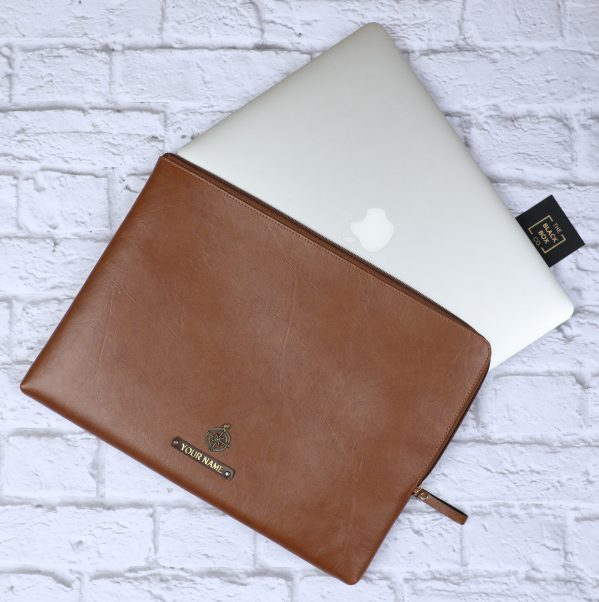 Leather Laptop Cover