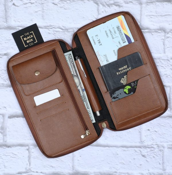 Personalised Zippered Travel Case