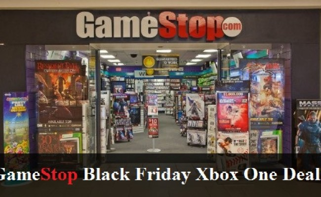 Gamestop Black Friday Xbox One Deals 2018
