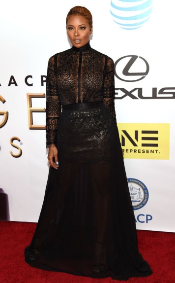 EVA MARCILLE NAACP IMAGE AWARDS 2016 RED CARPET
