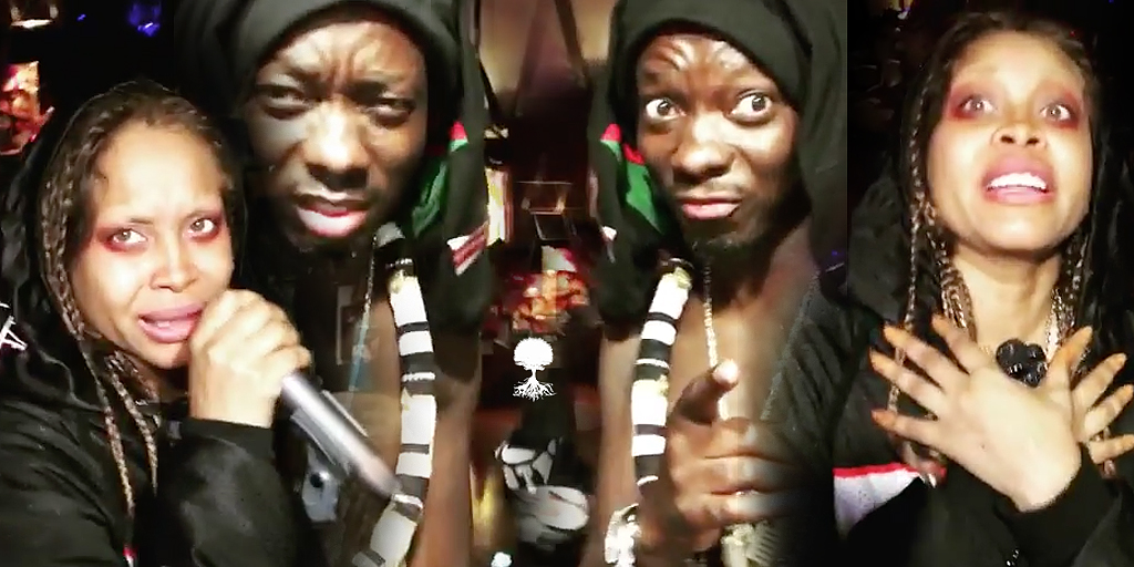 Erykah Badu & Michael Blackson For The P*ssy/D*ck Challenge Is Hysterical