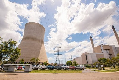 panoramic of Callide Power Station Queensland Australia
