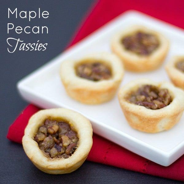 Maple Pecan Tassies text