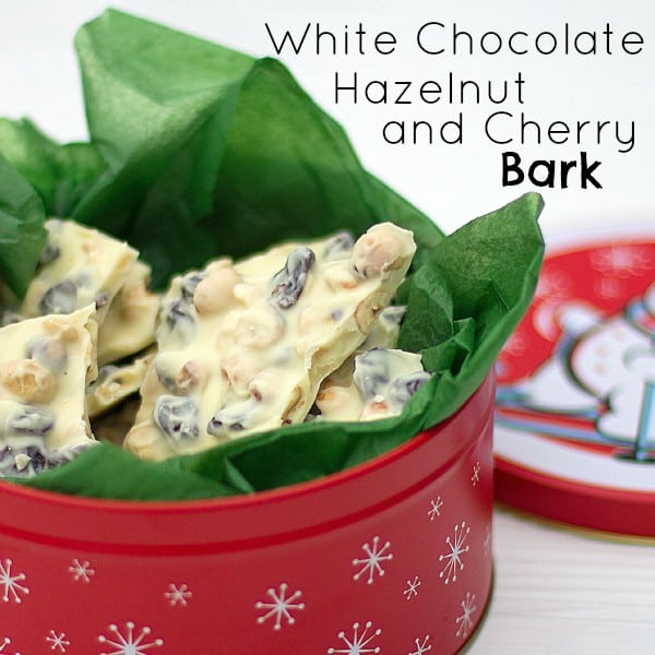 white chocolate hazelnut and cherry bark text1
