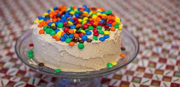 M Amp M Chocolate Peanut Butter Layer Cake