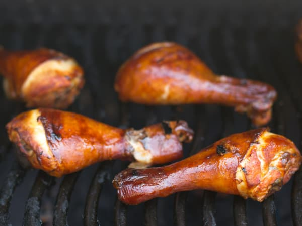 How long to smoke chicken drumsticks