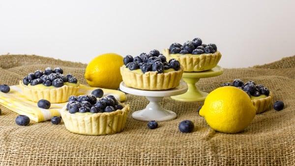 Lemon Blueberry Tart-4