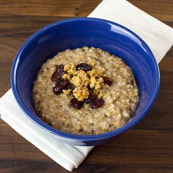 Pressure Cooker Steel Cut Oats and Red River Cereal-3
