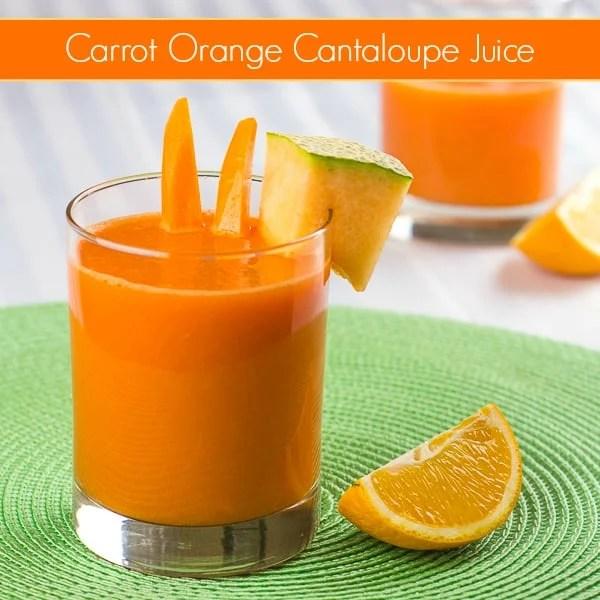 Carrot Orange Cantaloupe Juice pin