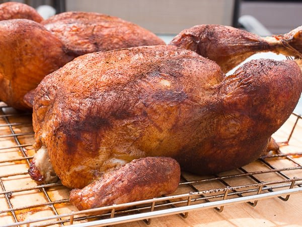 How to Smoke a whole chicken-2