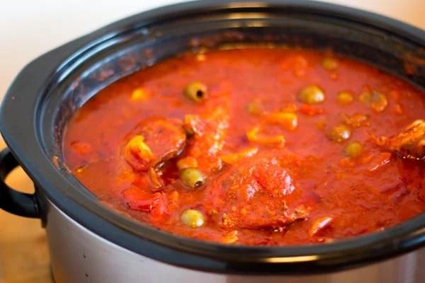 Crock Pot Chicken Cacciatore-2